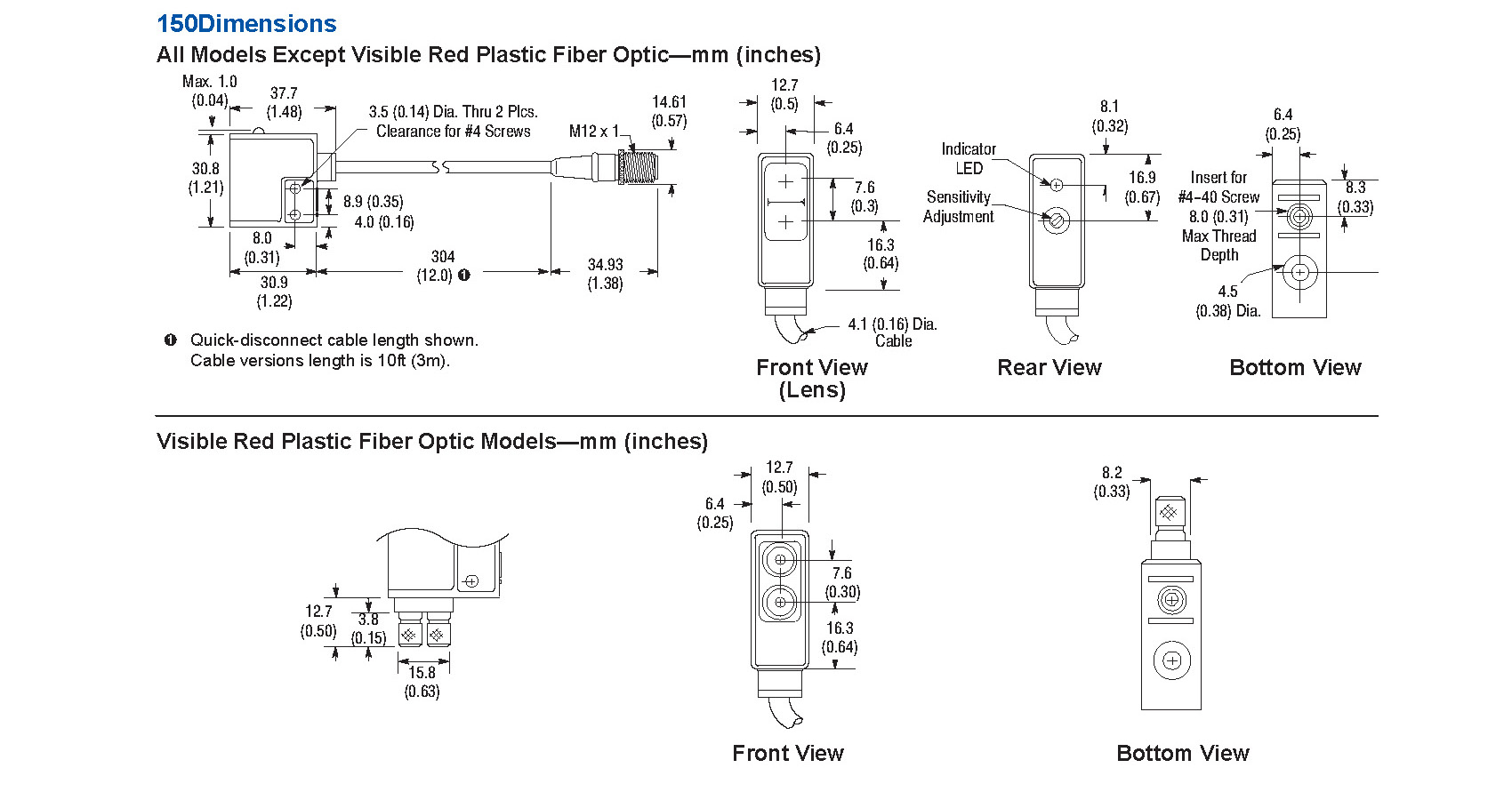 Photoswitch Photoelectric Sensor 7000 Series Wide Angle Diffuse Dc Pnp Wiring Diagrams Diagram