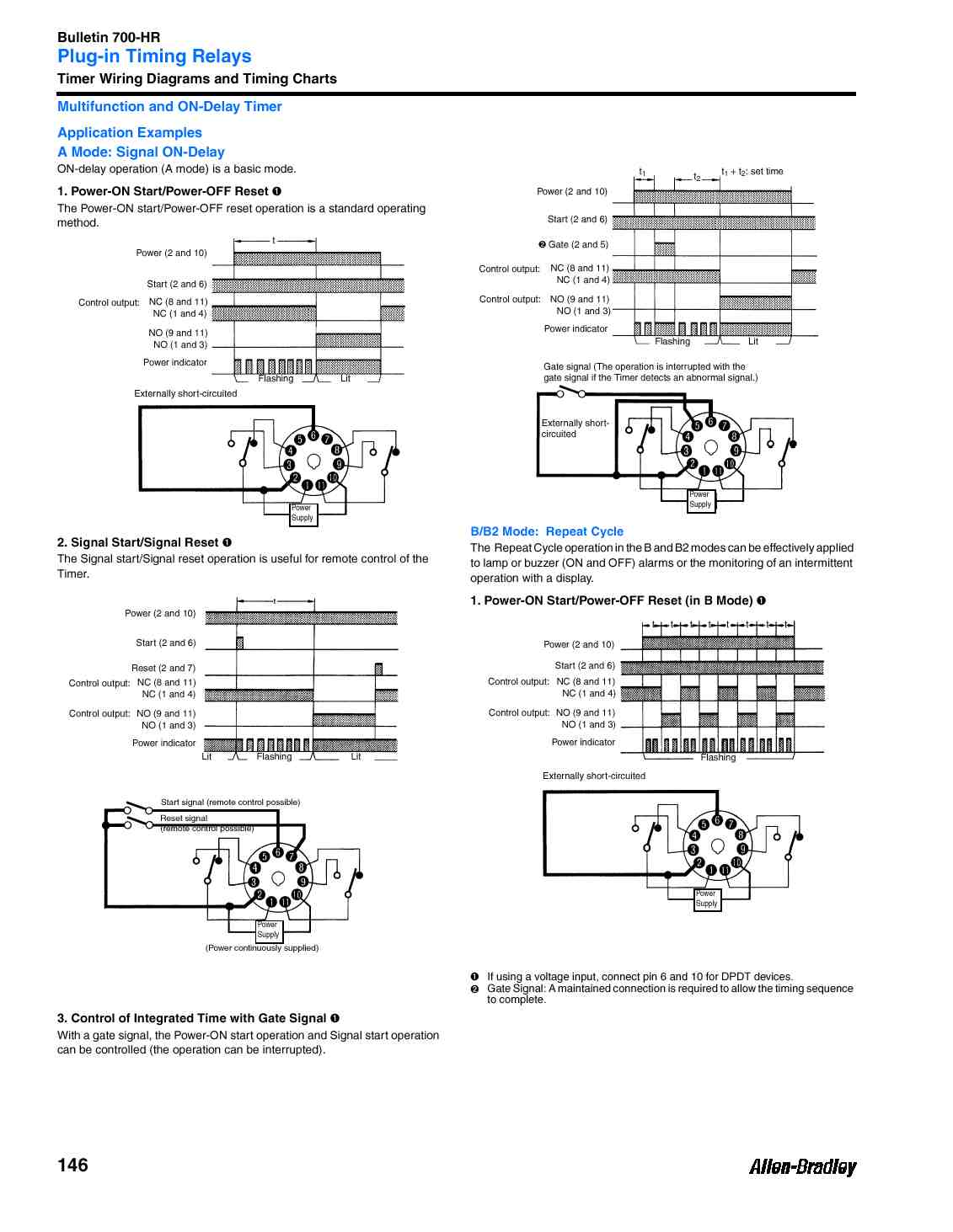 700 Hr General Purpose Dial Timing Relay Twin Timer W 8 Pins On Delay Wiring Diagram Specifications Sheet Page 2