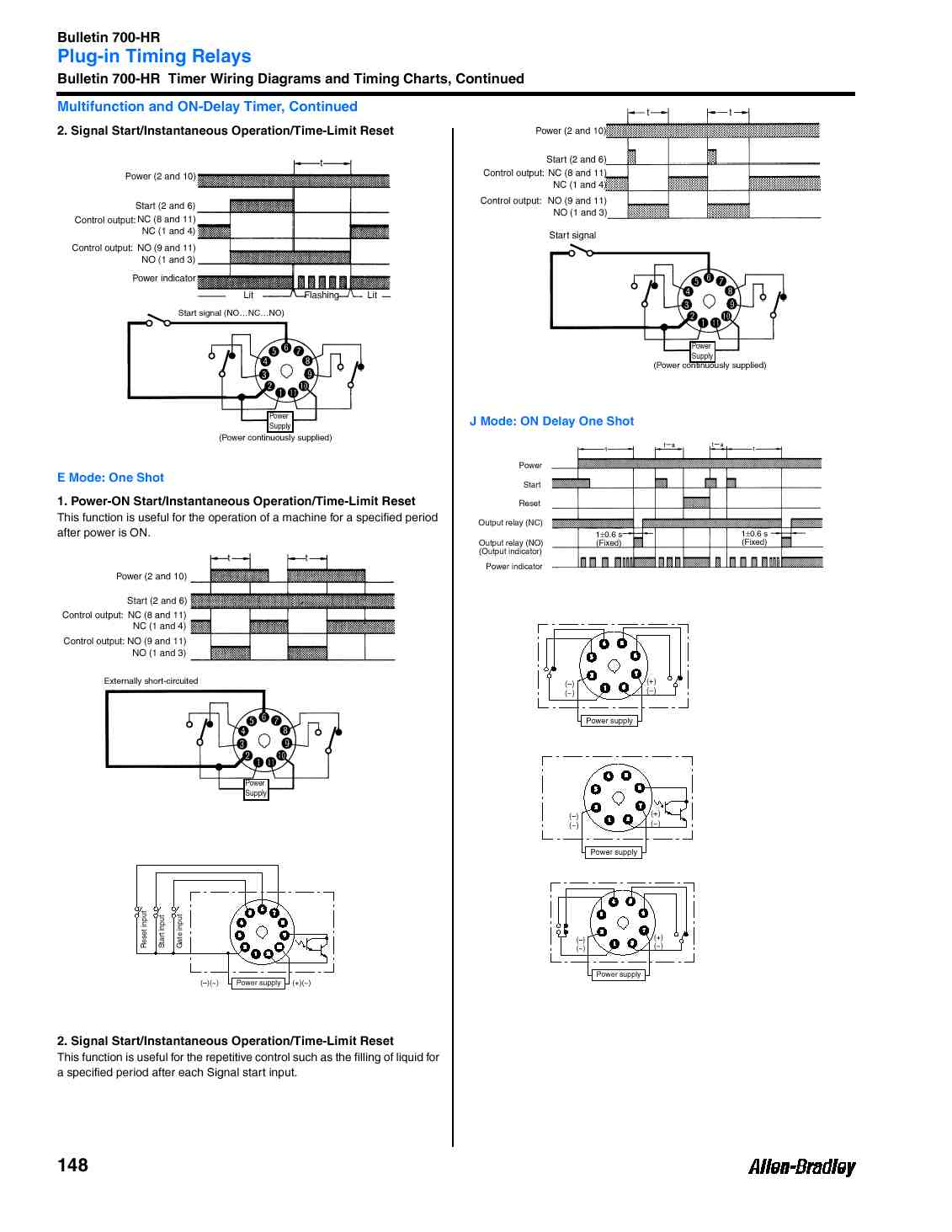 700 Hr General Purpose Dial Timing Relay Twin Timer W 8 Pins On Delay Wiring Diagram Specifications Sheet Page 4