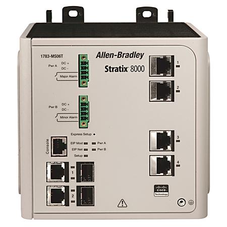 Stratix 8000 Switch Managed 6 Port Base Switch 1783ms06t