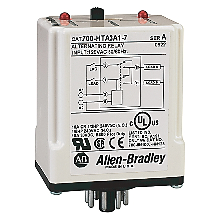 700 hta alternating relay dpdt cross wired 3 control switch 120v rh quad industry com Alternating Relay Circuit Alternating Relays for Pumps
