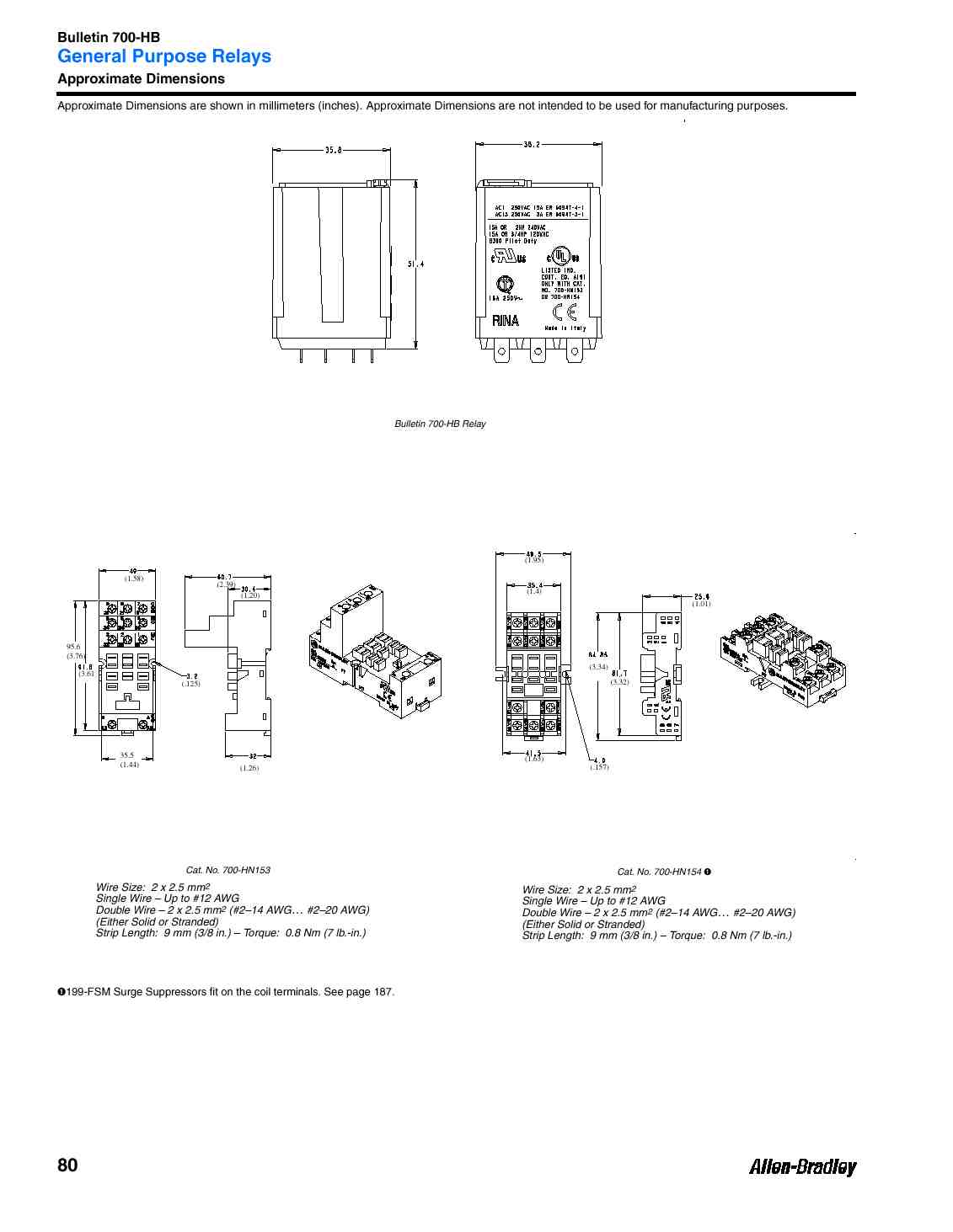 700 Hb General Purpose Blade Base Relay 15 Amp Contact 3pdt 240v Wiring Diagram Dimension Sheet