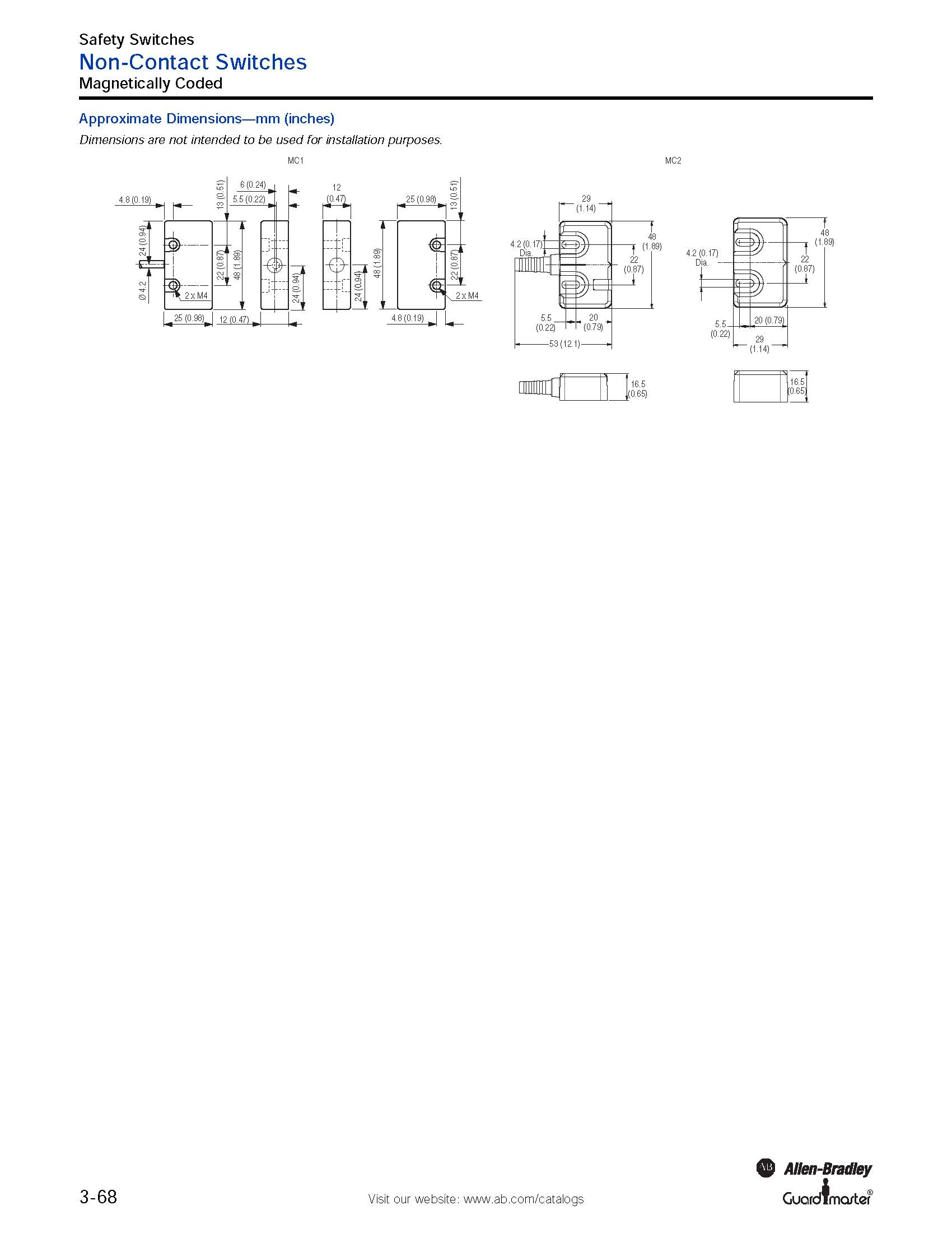 Magnetically Coded 2 Nc Solid State Relays W Led Indicator 10 Contactor Wire Diagram Wiring